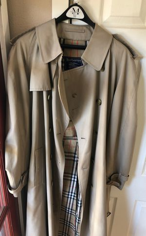 Burberrys' Tan Trench Coat (Jacket/Overcoat) for Sale in Portland, OR