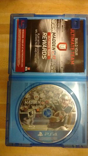 Madden 17 PS4 $10 for Sale in Washington, DC
