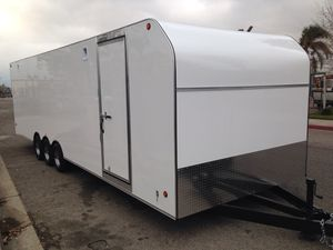 Brand new 8.5x28x7 enclosed trailer for Sale in Rancho Cucamonga, CA