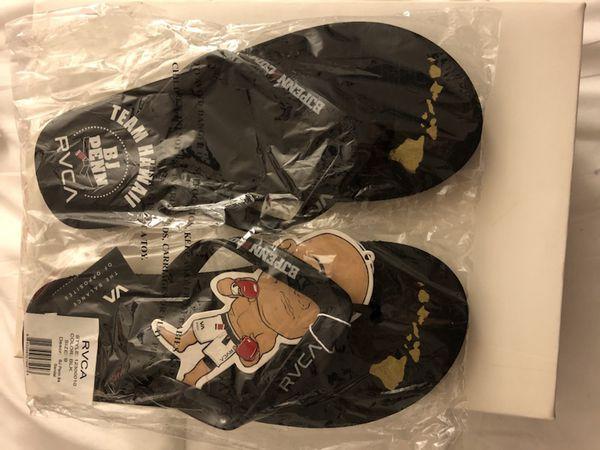 BJ Penn - RVCA Sandals size 9