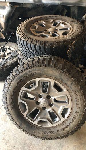 Jeep Wrangler Rubicon wheels & Tire's for Sale in Wildomar, CA