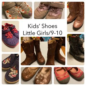 Kids' Shoes/Boots, Sizes 9/10 for Sale in Kansas City, MO