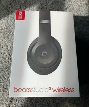 Brand New Beats Studio 3 Wireless Headphones Black for Sale in Palo Alto, CA
