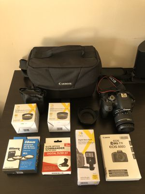 Canon T7i DSLR Camera with 18-55mm IS STM Lens for Sale in Vernon Hills, IL