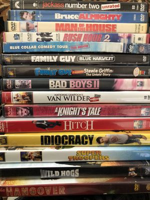 Dvds only for Sale in Moseley, VA