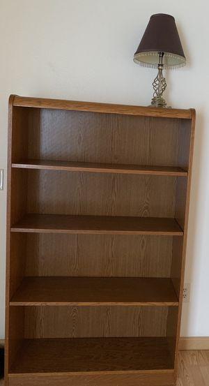 Free bookshelf and lamp for Sale in Bradbury, CA