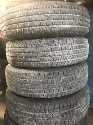 (4) ST175/80R13 trailer tires for Sale in Broussard, LA