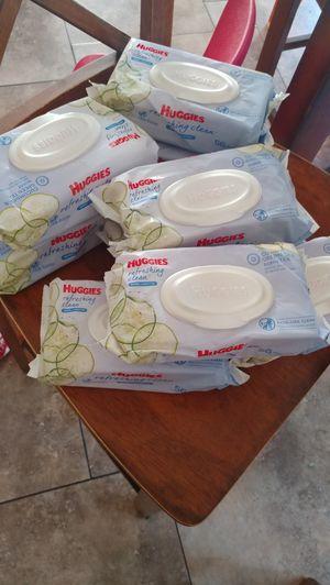 Huggies refreshing clean wipes 56 pack for Sale in Ontario, CA