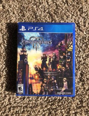 Kingdom Hearts III 3 PS4 for Sale in Davie, FL