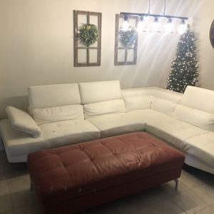 Large Leather Couch for Sale in Rowlett, TX