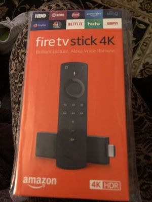 Fire tv stick 4K for Sale in Gloucester City, NJ