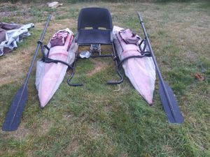 Inflatable kayak pontoon fishing boats for Sale in Renton, WA