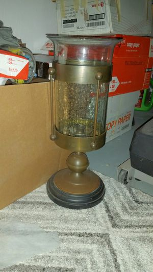 Large hurricane lamp for Sale in Orlando, FL
