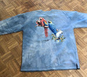 SZ Large Sweat Shirt sky blue tie die base, vivid colors. for Sale in Phoenix, AZ