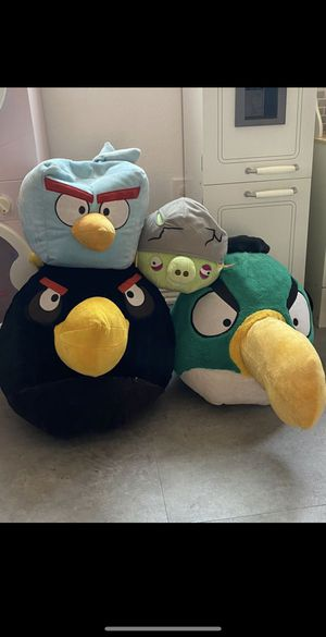 Angry bird plush & Finn plush for Sale in National City, CA