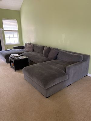 Grey Sectional Couch for Sale in Winston, GA