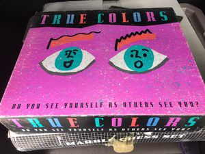 True Colors Out of Print Board Game for Sale in St. Petersburg, FL