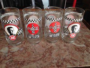 NASCAR Coca Cola collectible glasses for Sale in Dallas, TX