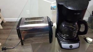Mr Coffee Maker & Hamiltom Beach Toaster for Sale in Austin, TX