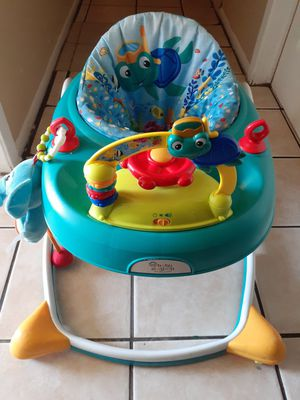 Baby Walker and monkey rocker 15 each or 30 for both must pick up thank u. for Sale in San Antonio, TX