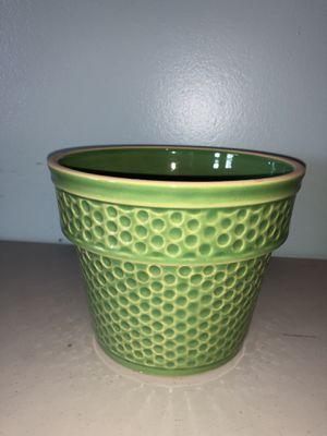 Green Flower Pot for Sale in Virginia Beach, VA