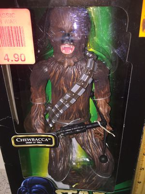 Vintage Star Wars a new hope 13 inch Chewbacca Toy Action Figure MIB for Sale in Brooklyn, NY