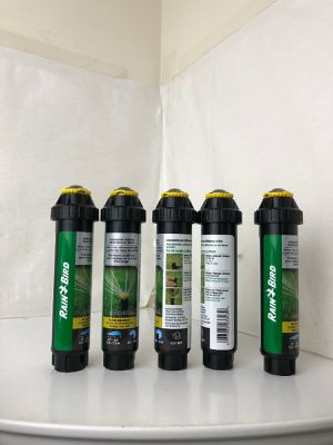 (5) RAIN BIRD 22SA-RVAN Pop-Up Rotor Sprinkler Head,6-1/4 in. H for Sale in Mint Hill, NC