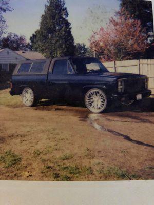 Chevy Silverado SWB 1981 c10 for Sale in Seattle, WA