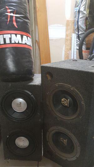 JBL Pioneer Speaker boom box 3 kinds for Sale in Apex, NC