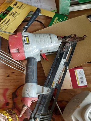 Central pnuematic nail gun for Sale in San Antonio, TX