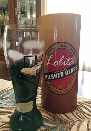 Lolita pilsner glass collectible for Sale in Farmington, MI