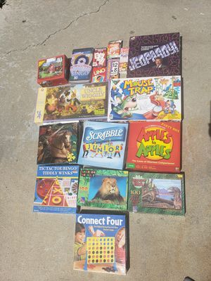 Games and puzzles for Sale in Lake Forest, CA