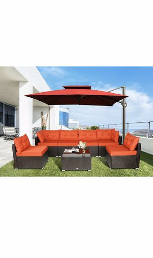 Outdoor furniture, 7pc patio set, outdoor patio furniture for Sale in Maricopa, AZ