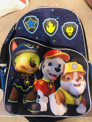 Paw patrol book bag for Sale in Romeoville, IL