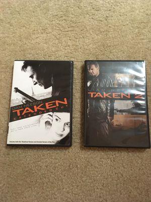 Taken extended cut and Taken 2 for Sale in Ashburn, VA
