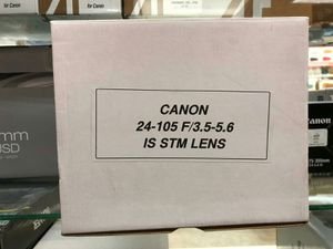 Canon 24-105 f/3.5-5.6 IS STM Lens for Sale in Fort Lauderdale, FL