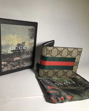 Gucci Webb Wallet (Green/Red) for Sale in Dallas, TX
