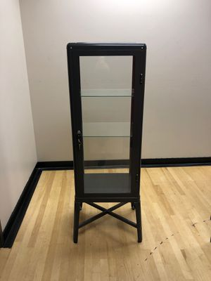 Locking Glass display case for Sale in Vancouver, WA