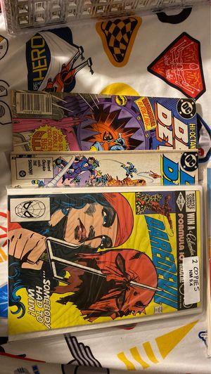Blue devil, and daredevil comics! for Sale in Las Vegas, NV