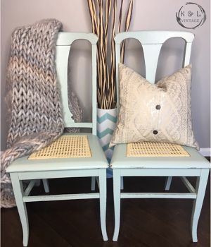 Set of farmhouse style chairs for Sale in Bristow, VA