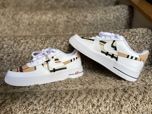 Nike Custom Air Force 1's - size 7Y for Sale in Eagan, MN