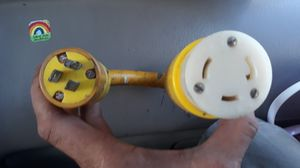 Outlet adapter from wall plug to washer or dryer for Sale in Honolulu, HI