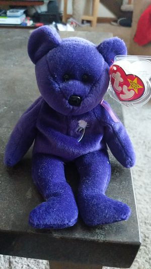 Princess Diana beanie baby for Sale in North Attleborough, MA