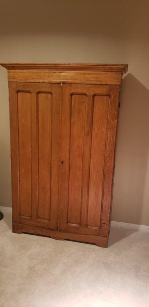 Antique pine armoire for Sale in Newport Beach, CA