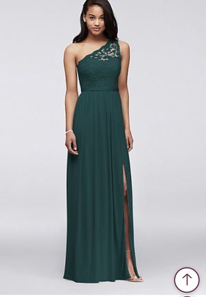 David's bridal juniper sz 10 bridesmaids dress of and fancy event dress for Sale in Los Angeles, CA