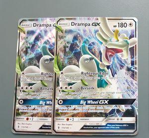 Drampa GX x2 Set Pokemon Cards for Sale in Phoenix, AZ