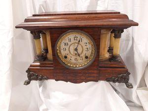 "Clock Seth Thomas model Adamantine ""Sucile"" antique. 1902 Has key original for Sale in Gaithersburg, MD"
