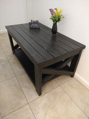 Modern Rustique Coffee Table for Sale in Hesperia, CA