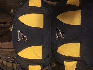 Set of blues gym bags. for Sale in St. Louis, MO
