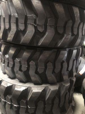 Bobcat tire on sale 4x 10-16.5 12 ply $ 430. 4x 12-16.5 14 ply $530 for Sale in San Bernardino, CA